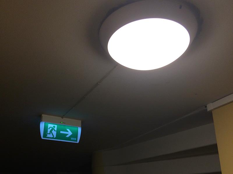 Nödbelysning trapphus